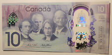 Gem UNC Canada $10 2017 commemorative Canada 150 polymer bill Bank Notes in hand