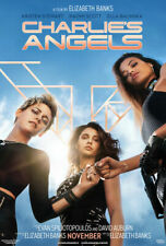 Charlie's Angels Movie Poster (2019) 27x40 inches KRISTEN STEWART  FREE SHIPPING