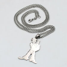 "SHAGGY 2 DOPE F$CK OFF Insane Clown Posse Stainless Steel Charm 24"" chain"
