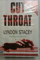 Cut Throat by Lyndon Stacey: Unabridged Cassette Audiobook (K2)