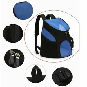 Dog Backpack Carrier Small Pets Large Capacity Bag Travel Portable Breathable
