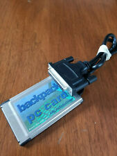 MicroSolutions BackPack PCMCIA PC Card 836 Used Unetsted