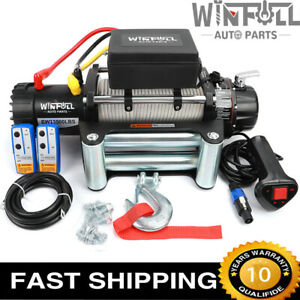 NEW ELECTRIC WINCH 12V 4x4 13500lb RECOVERY- OFF ROAD - WIRELESS WINFULL BRAND