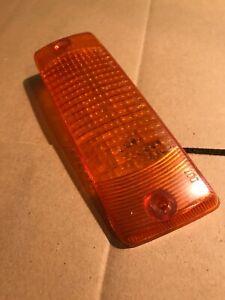 74-78 Datsun 260Z 280Z RH Parking Light Turn Signal Amber Lens 3064R Right (1T)
