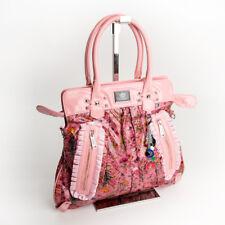 Retro citybag Spalla Shopper A Tracolla Fiori Borsa Manico Rosa Design LYDC 76r