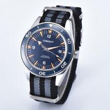 Sapphire Crystal Corgeut 41mm Ceramic Bezel Mens Miyota Automatic Nylon Watch C9