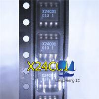 10PCS X24C01 Encapsulation:SMD,1K-Bit Serial EEPROM new
