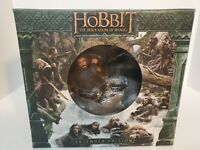 The Hobbit Desolation of Smaug Extended Edition Blu Ray 3D Thorin statueRARE!!