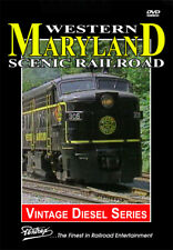 Western Maryland Scenic Railroad DVD By Pentrex