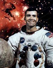8x10 Print NASA Fred Haise Jr Lunar Module Pilot Apollo 13 #1a262