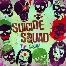 Suicide Squad The Album - Double Vinyl LP Etched on Side 4