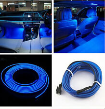 2M Blue EL Wire Cold Neon lamp Atmosphere Lights For Holden VE Commodore Sedan