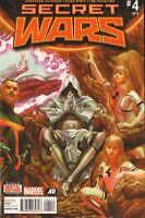 Secret Wars #4 Alex Ross Main Cover Marvel Comic 1st Print 2015 NM
