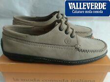 Valleverde Sneakers scarpe Barca Beige Lacci Timberland Nabuk Formula N°39  Nuovo 8f52aa0006c