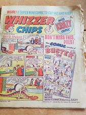 WHIZZER and CHIPS 1978 Children's Collectable Comic