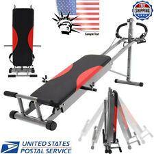 Full Body Gym Home Exercise Fitness Gym Machine AB Trainer Workout Equipment US