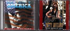 America (TWISI) by Hank Williams Jr.(CD)&Sings Songs of Love; Patty Lovelace(CD)