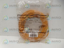 INDUSTRIAL MRO CAT5E-30-ORANGE CABLE *NEW IN FACTORY BAG*