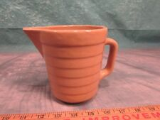 Vintage Stoneware advertising Pitcher Farmers Co-op Association Winterset Iowa