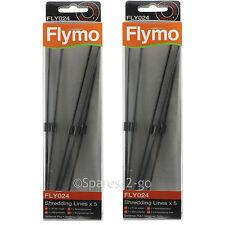 10 FLYMO Soplador De Hojas Vac trituración línea fly024 líneas gardenvac Turbo 1800 2200