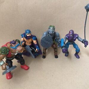 Vintage 1980's Playmates TMNT Teenage Mutant Ninja Turtles Figure Job Lot 1