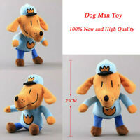 25cm Dog Stuffed Animal Dogman Figure Cartoon Plush Soft Doll Toy Gift For Kids