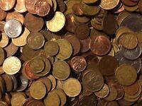 200 Grammes Restmünzen / Umlaufmünzen Afrique
