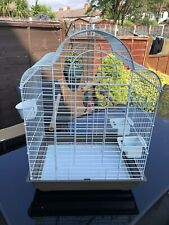 Large Metal Bird Cage Budgie Canary , Love Birds