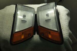 1988-1992 Toyota Corolla SR5 All-Trac Wagon OEM Front Corner Lamp Assy Set Pair