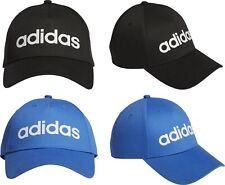 Adidas Unisex Cap Daily Sports Baseball Golf Hat Black Blue Men Women Adult Uni