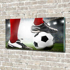 Tulup Glass Print Wall Art Image Picture 140x70cm - Players legs
