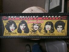 "The Rolling Stones ""Some Girls"" Insert CD Poster"