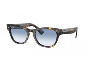 Ray-Ban Sunglasses RB2201 LARAMIE  13323F Blue Havana Unisex