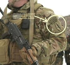 DAESH WHACKER SP OPS URBAN WARFARE 5TH SPECIAL FORCES GROUP SFG SSI w/ABN TAB