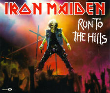 IRON MAIDEN - RUN TO THE HILLS * MAXI - CD * HEAVY METAL * HARD ROCK * RAR!!