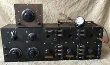 Old Northern Electric R1000 3 Tube Peanut Valve Set Receiver R20 Variometer Ww1