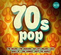 70'S POP 60 TRACKS OF CLASSIC POP The Nolans,Eric Carmen;Barry Blue 3 CD NEW