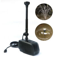 1000GPH 65W Fish Pond Pump Water Fountain Waterfall Submersible Garden Pump Kit