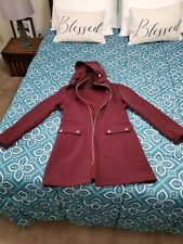 Siena studio jacket Burgundy Sz MEDIUM GREAT CONDITION
