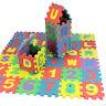 36pcs Creative Kids Alphanumeric Educational Puzzle Blocks Changeable Toy