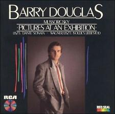 Cd Barry Douglas Mussorgsky Pictures at an Exhibition RCA Japanese Pressing EXC