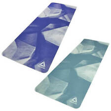 Reebok POE Yoga Mat Eco Friendly Exercise Fitness Gym Workout with Carry Strap