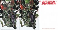 DCEASED #1 variant set Buy Me Toys Blood Variant art set
