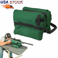 Tactical Shooting Gun Rest Front Sand Bags Rifle Bench Steady Unfilled Green US