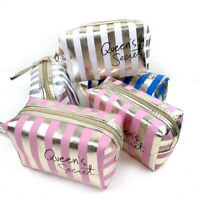 1-Travel Cosmetic Makeup Bag Portable Toiletry Case Wash Pouch Organizer Storage