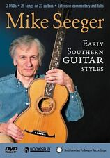 Mike Seeger Early Southern Guitar Styles Learn to Play Country Music DVD