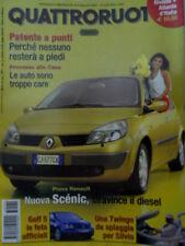 Quattroruote 574 2003 Golf 5. Carrozzeria Giannini. Porsche 911 Carrera 4S [Q72]