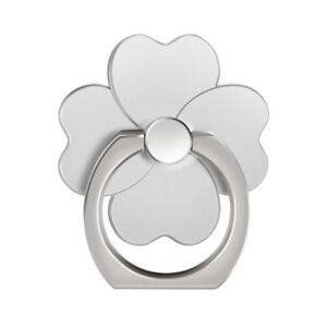 4 Leaf Clover Finger Ring Holder 360 Rotation Stand Grip For Smartphones Tablet