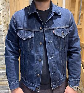 Levi's Blue Denim Men's Jacket M
