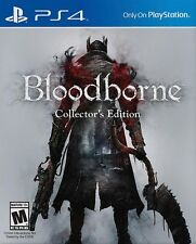 Bloodborne - Collector's Edition - Sony Playstation 4 Game - Complete